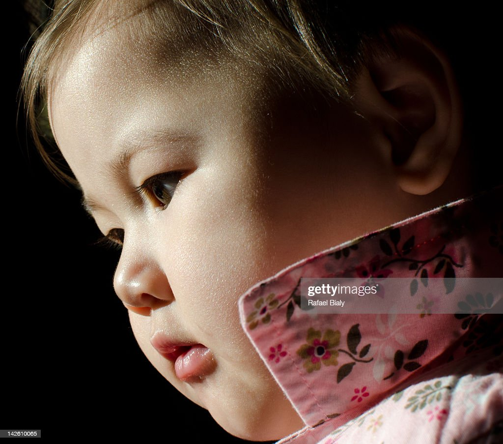 Cute Baby girl : Stock Photo
