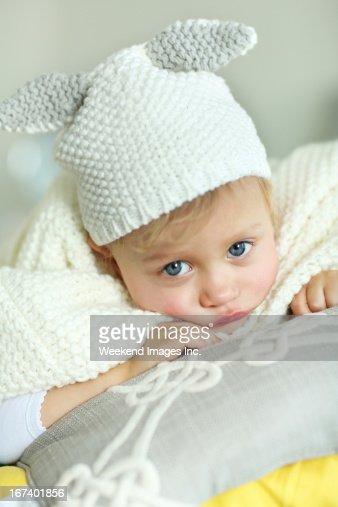 Cute baby : Bildbanksbilder