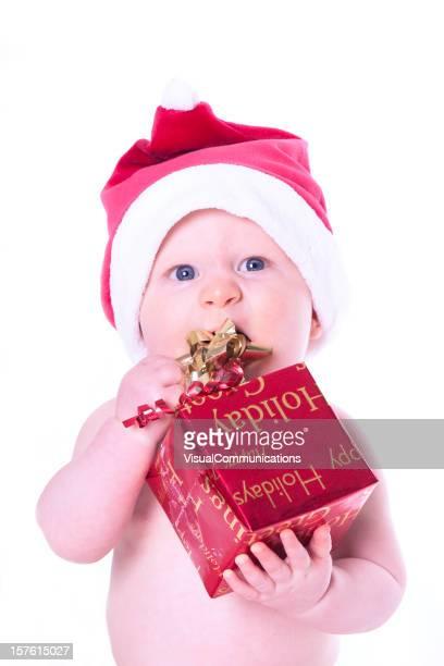 cute baby santa.