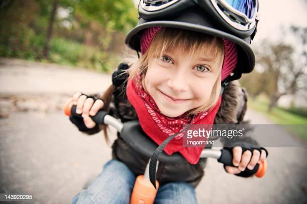 Cute Biker
