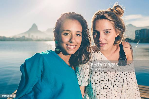Niedlich Brasilianische Mädchen
