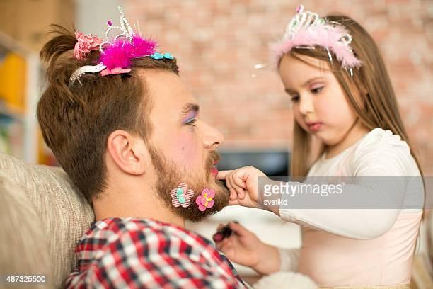 かわいいだけで彼女の父親を作ります。
