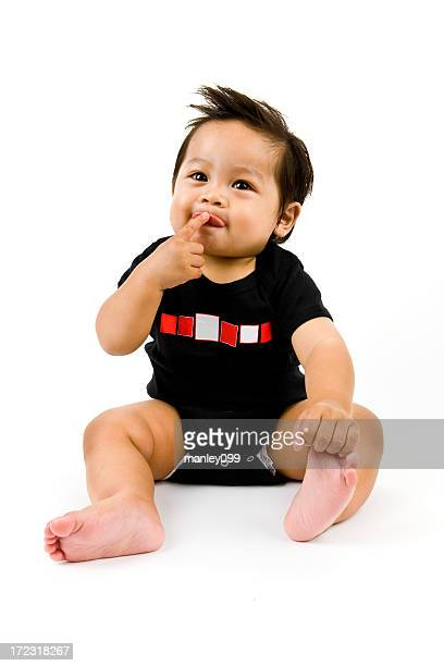 Mignon petit bébé garçon