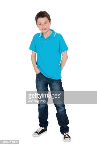 Cute Little Boy in Casuals