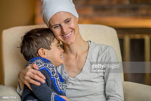 Cute Little Boy Making His Mother Laugh