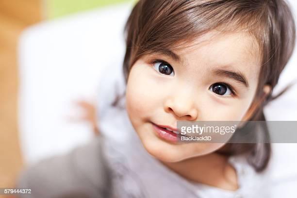 Niedliche kleine Mädchen