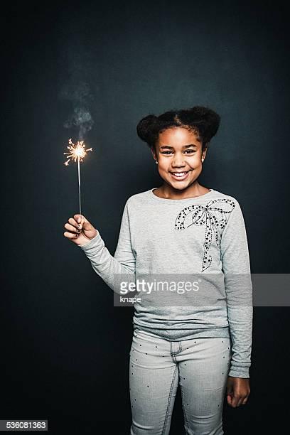 Cute little happy girl