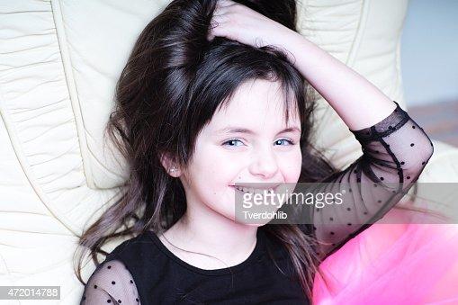 cute smiling girl stock photo thinkstock