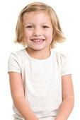 Cute Smiling Little Girl