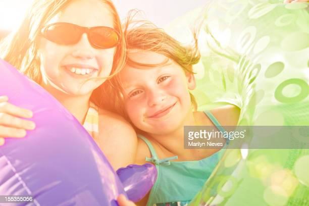 Süße Sommer Lächeln