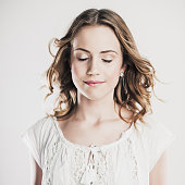 Cute teenager portrait