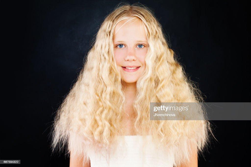 Teen Cutie girl blonde