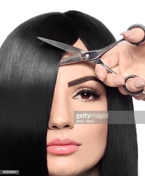 Couper les cheveux à hairsalon