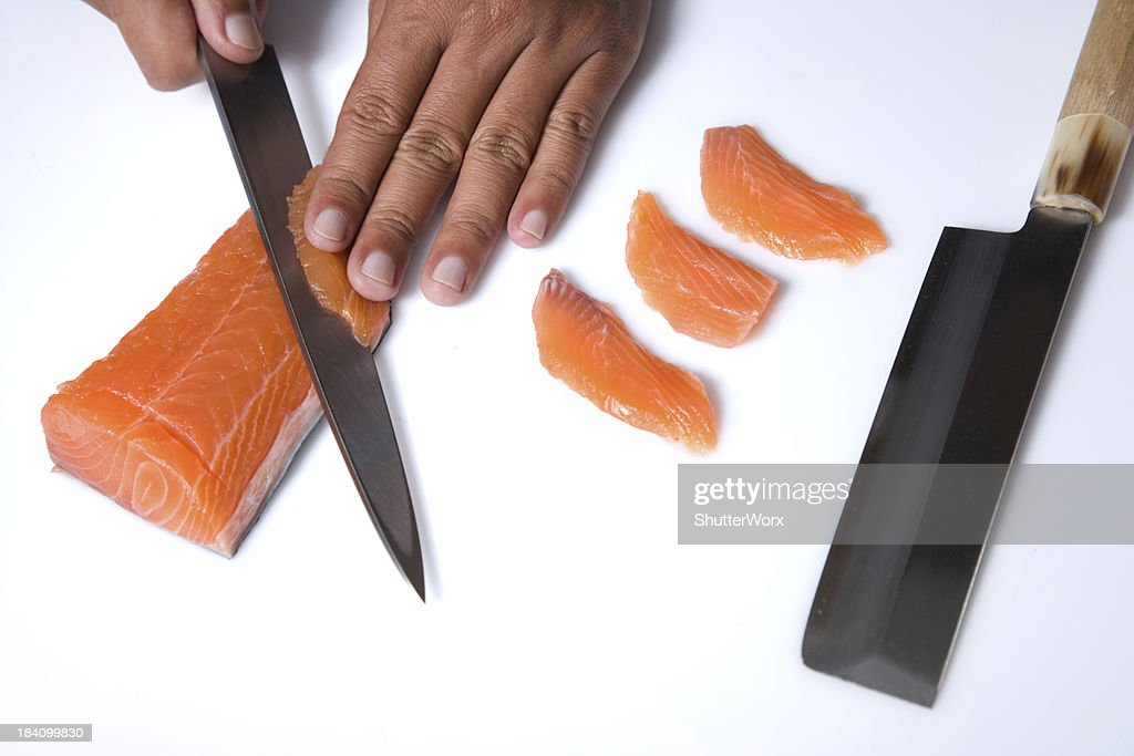 Cutting Sushi