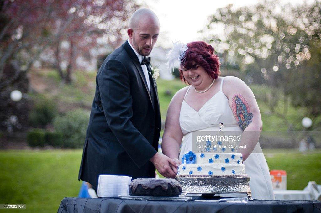 Cutting the Cake -- Macon, GA