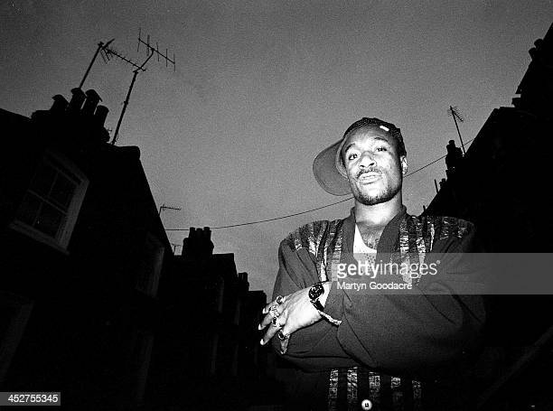 Cutty Ranks Jamaican Reggae and Dancehall artist London United Kingdom 1991