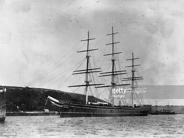 The nineteenth century tea clipper 'Cutty Sark' The ship built at Scott and Linton's Dumbarton shipyards in 1869 was designed to sail to China for...