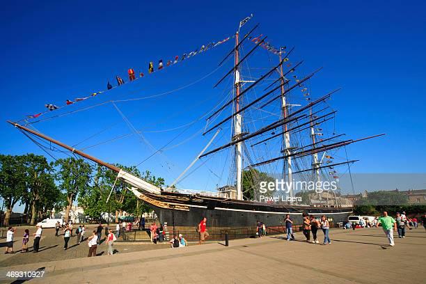 Cutty Sark Tea Clipper ship in Greenwich