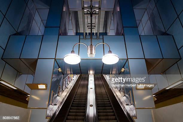 Cutty Sark Underground Station