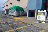 Cuyahoga Falls OH Customers set up tents in anticipation of Black Friday sales at Best Buy in Cuyahoga Falls Ohio on Sunday November 24 2013...