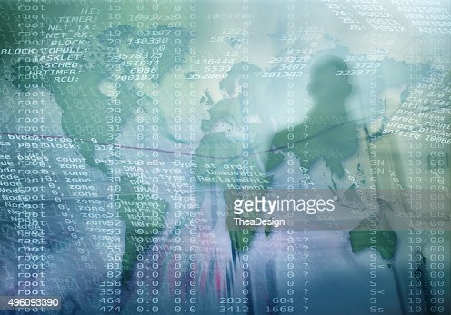Cyber crime : Stock Photo