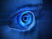 eye and virtual reality