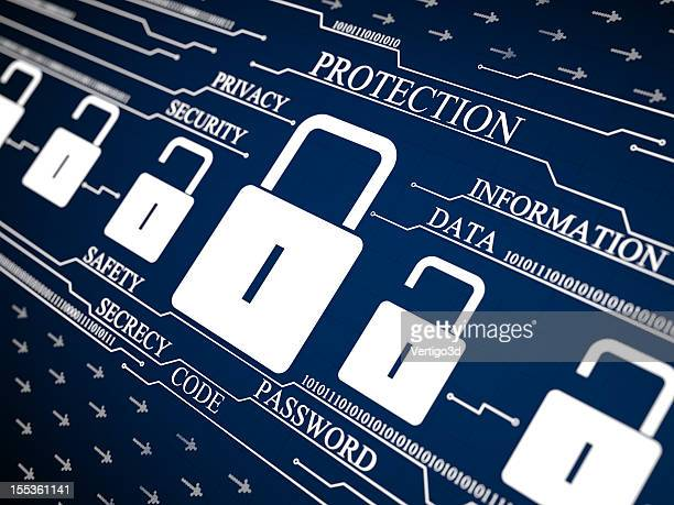Cyber Security Protection Lock