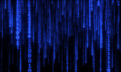 abstract background with dark blue digital lines