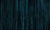 abstract background with blue digital lines