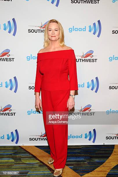 Cybill Shepherd arrives at the 21st Annual GLAAD Media Awards at San Francisco Marriott Marquis on June 5 2010 in San Francisco California
