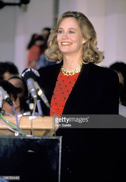 Cybill Shepherd during Cybill Shepherd Honored with a Star on the Hollywood Walk of Fame at 7000 Hollywood Blvd in Hollywood California United States