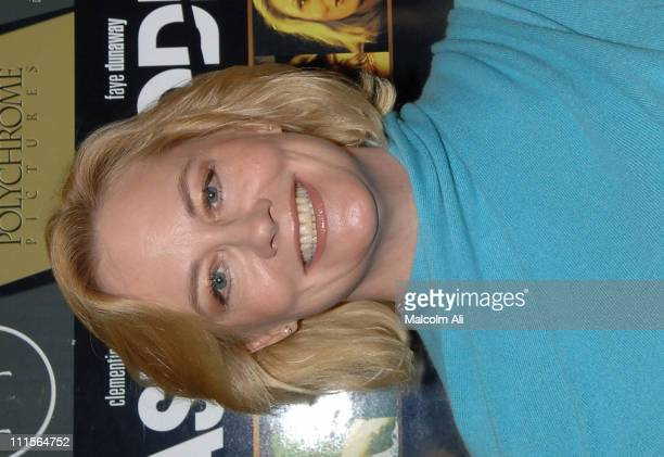 Cybill Shepherd during 'The Last Goodbye' DVD Release Party at Club Ivar in Hollywood California United States