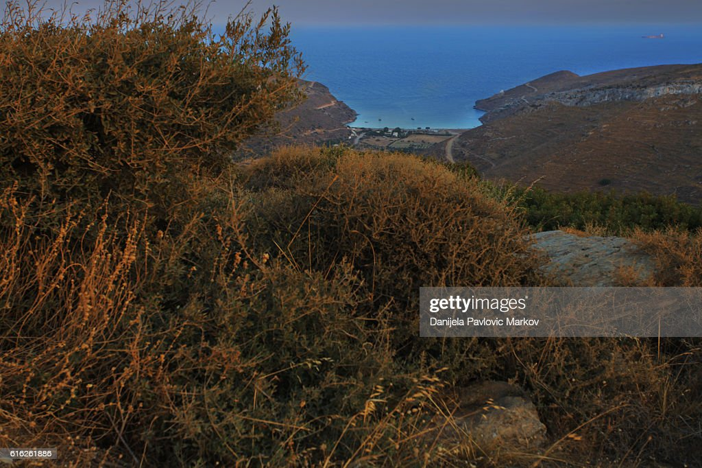 Cyclades dusk : Stock Photo