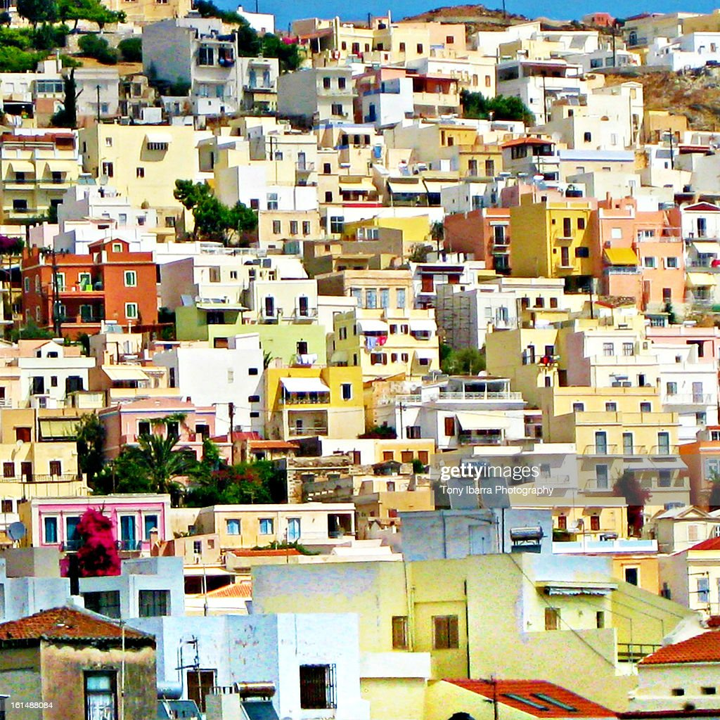 Cycladic Architecture (Greek Buildings)