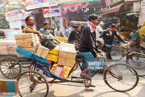 Cycle Rickshaws, Chandi Chowk Market, Old Delhi
