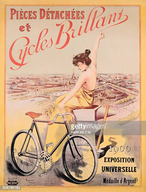 Cycles Brillant Poster by Raymond Tournon