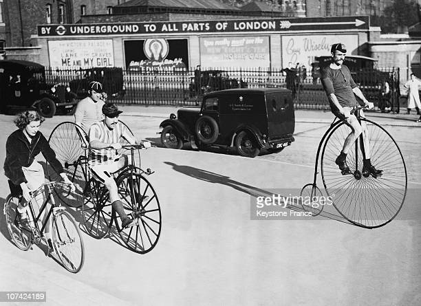 Cycles Through The Ages At London In England On November 5Th 1938