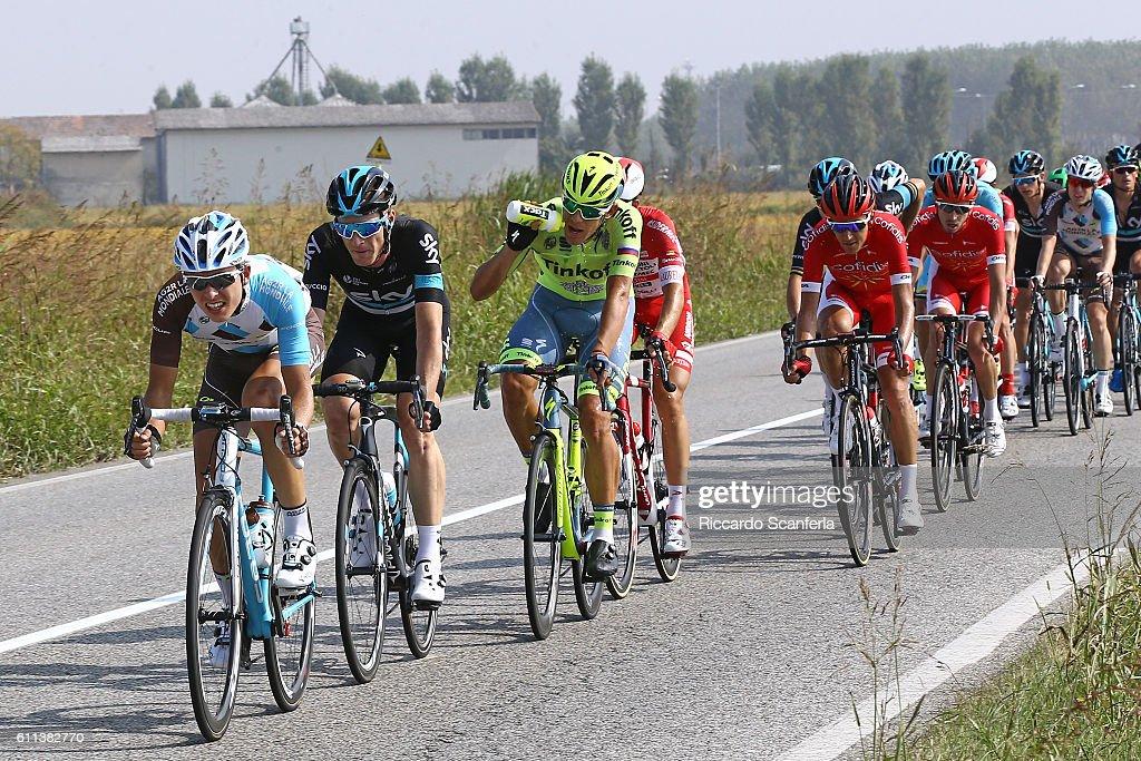 100th Giro del Piemonte 2016 Benoit COSNEFROY (FRA)/ Salvatore PUCCIO (ITA)/ Diano d'Alba - Aglie (207Km)/ Tim De WaeleRS/Tim De Waele/Corbis via Getty Images)