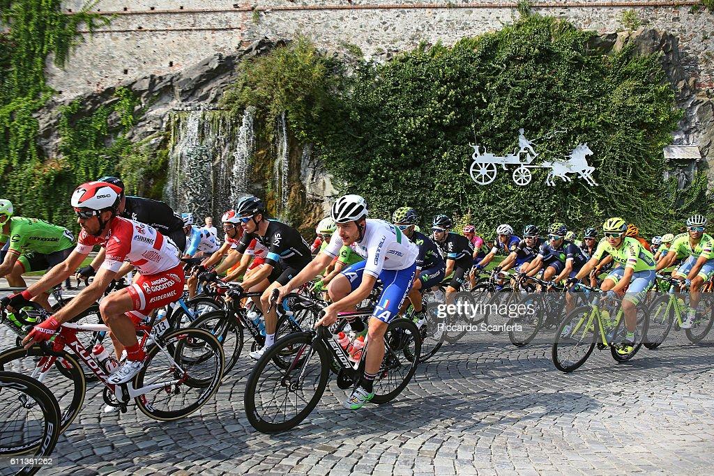 100th Giro del Piemonte 2016 Peloton / Diano d'Alba - Aglie (207Km)/ Tim De WaeleRS/Tim De Waele/Corbis via Getty Images)