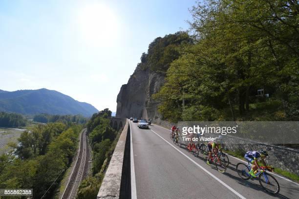 100th Giro dell'Emilia 2017 Davide BALLERINI / Redi HALILAJ / Francois BIDARD / Nicolas EDET / Fabien DOUBEY / Jacopo MOSCA / Lorenzo ROTA / Nicola...
