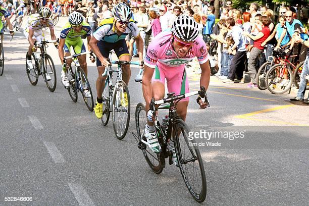 'Cycling 100th Giro d'Italia 2009 / Stage 8 DI LUCA Danilo Pink Jersey / Christopher HORNER / PELLIZOTTI Franco / BERGAMO ALTA / Michael ROGERS /...