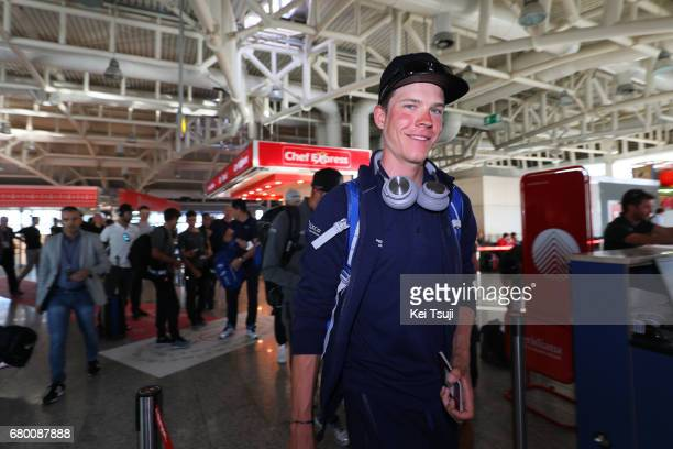 100th Tour of Italy 2017 / Restday Bob JUNGELS / Transfer by flight towards Palermo/ Sicily before rest day 1 / Giro /