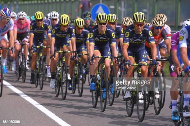 100th Tour of Italy 2017 / Stage 12 Svein TUFT / Vincenzo NIBALI / Team ORICAScott / Forli Reggio Emilia / Giro /