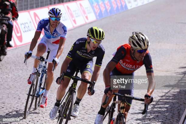 100th Tour of Italy 2017 / Stage 14 Arrival / Vincenzo NIBALI / Adam YATES / Thibaut PINOT / Castellania OropaBiella 1142m / Giro /