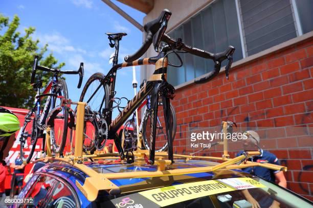 100th Tour of Italy 2017 / Stage 14 Merida Bike / Vincenzo NIBALI / Team Bahrain Merida / Castellania OropaBiella 1142m / Giro /