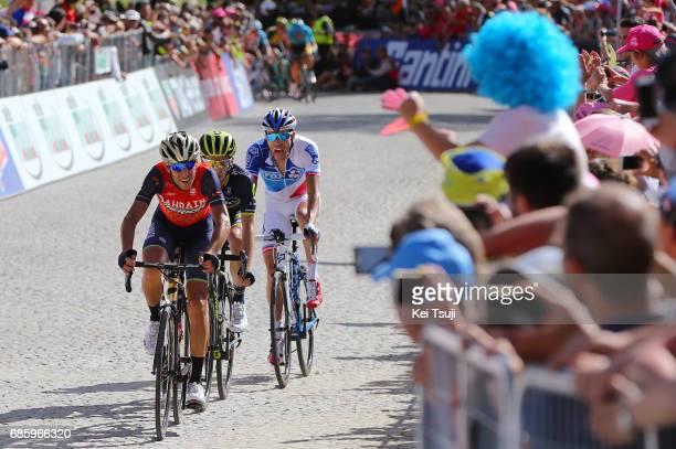 100th Tour of Italy 2017 / Stage 14 Vincenzo NIBALI / Adam YATES / Thibaut PINOT / Castellania OropaBiella 1142m / Giro /