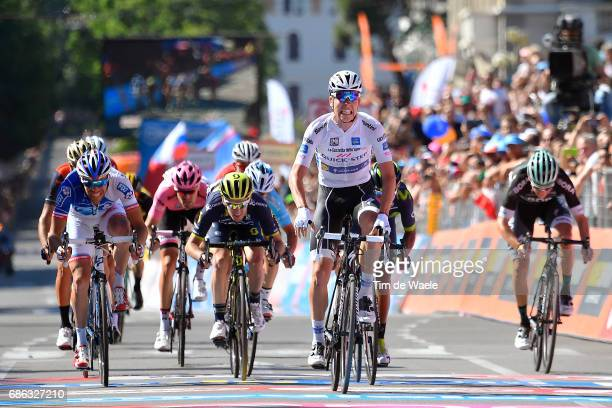 100th Tour of Italy 2017 / Stage 15 Arrival / Bob JUNGELS White Best Young Rider Jersey / Nairo QUINTANA / Thibaut PINOT / Adam YATES / Vincenzo...