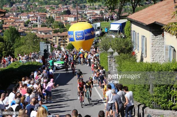 100th Tour of Italy 2017 / Stage 15 Dylan TEUNS / Enrico BATTAGLIN / Winner ANACONA GOMEZ / Silvan DILLIER / Rui FARIA DA COSTA / Bergamo Alta 371m /...