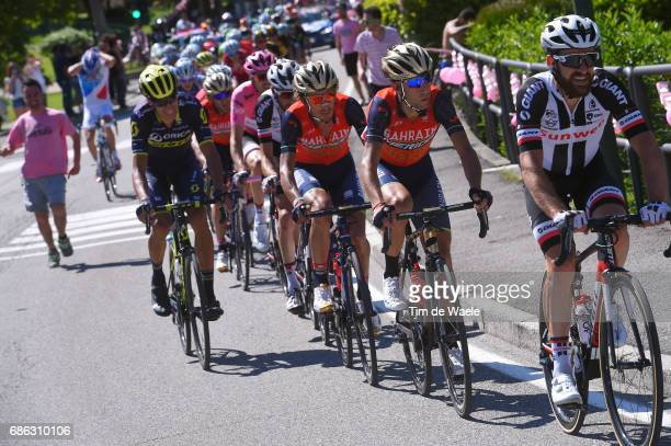 100th Tour of Italy 2017 / Stage 15 Simon GESCHKE / Vincenzo NIBALI / Franco PELLIZOTTI / Valdengo Bergamo / Giro /