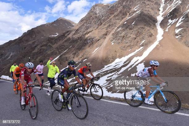 100th Tour of Italy 2017 / Stage 16 Domenico POZZOVIVO / Nairo QUINTANA / Ilnur ZAKARIN / Vincenzo NIBALI / Jan HIRT / Umbrailpass / Rovetta Bormio /...